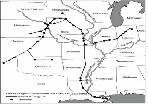 Ammonia Pipelines