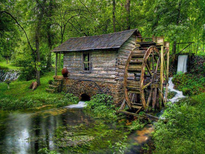 water-grist-mill-old